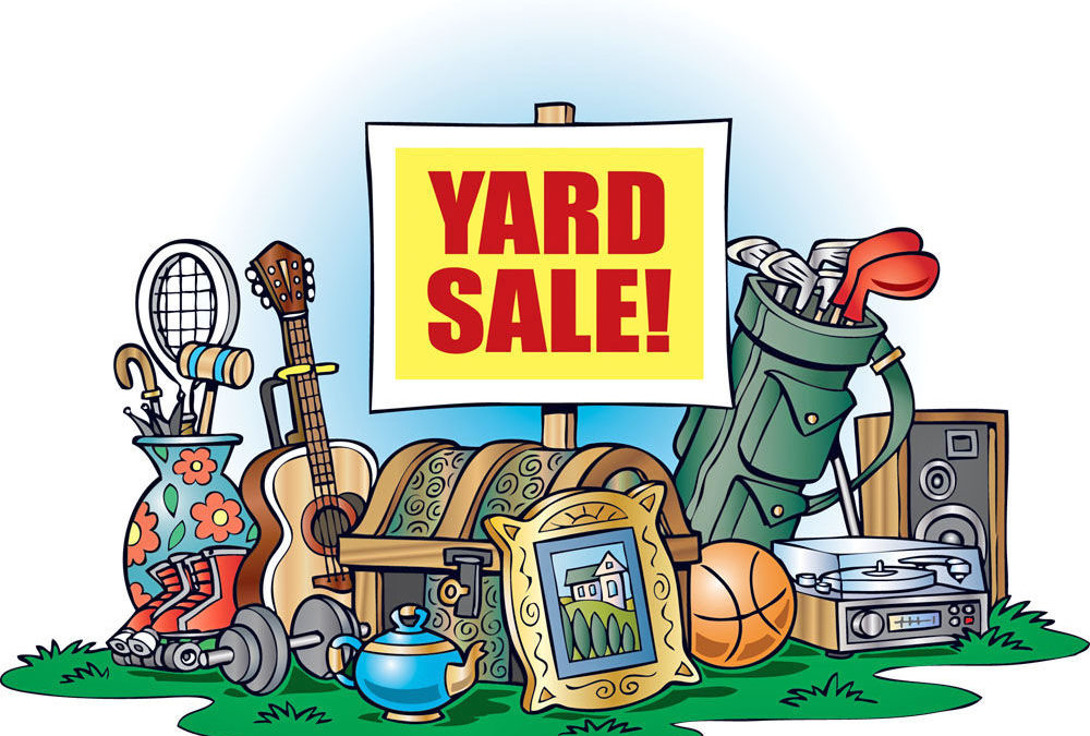 Yard Sale October 13